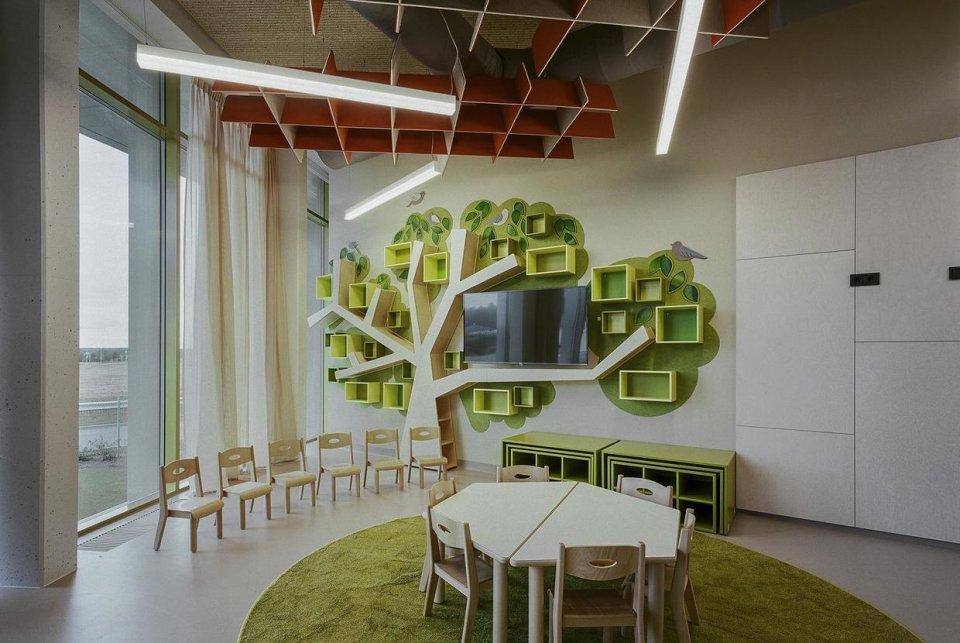 幼儿园装修设计思路与布局,空间设置方法